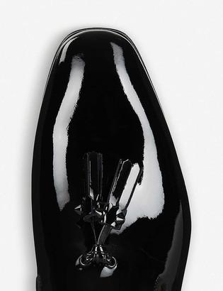 Christian Louboutin Dandelion tassel flat patent/gg