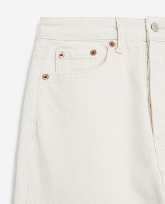The Kooples Buttoned plain white jeans