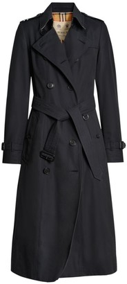 Burberry Heritage Chelsea Long-Length Trench Coat