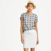 J.Crew Mixed polka-dot T-shirt