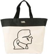 Karl Lagerfeld print shopping bag