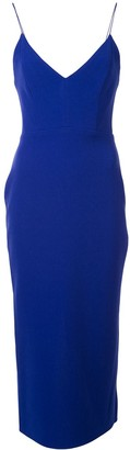 Alex Perry Drake crepe midi dress