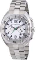 HUGO BOSS Baldessarini Men's Quartz Watch MOW Y8057W/20/00 with Metal Strap