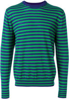 Paul Smith crew neck striped jumper