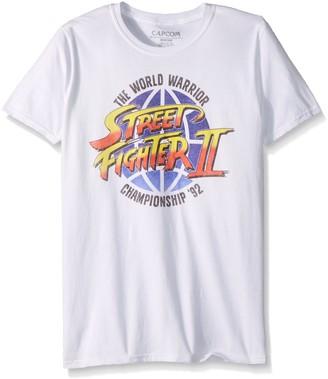 American Classics Unisex-Adults Street Fighter World Warrior Short Sleeve T-Shirt