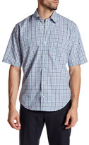 Tailorbyrd Classic Fit Woven Short Sleeve Shirt