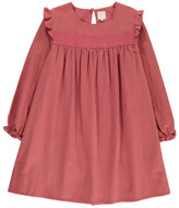 Little Karl Marc John Rislavy Ruffled Cut-Out Front Dress