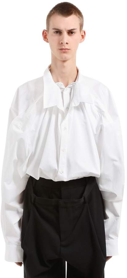 Y/Project Oversized Layered Cotton Shirt
