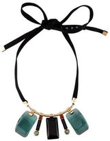Marni Crystal & Resin Statement Necklace