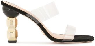 Vicenza Open-Toe Mule Sandals