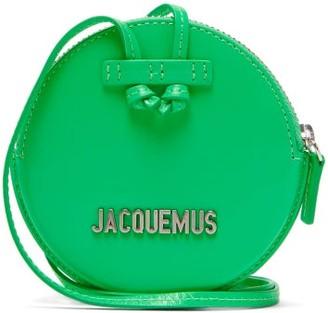 Jacquemus Pitchou Mini Leather Cross-body Bag - Womens - Green