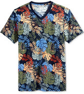 American Rag Men's Floral Print T-Shirt, Only at Macy's