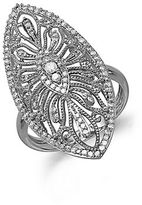 Lord & Taylor Diamond And 14K White Gold Ring, 0.50 TCW