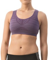 Smartwool PhD Seamless Sports Bra - Medium Impact, Racerback (For Women)