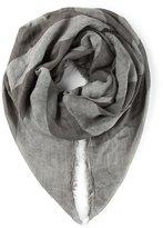 John Varvatos american flag print scarf - men - Silk/Modal - One Size
