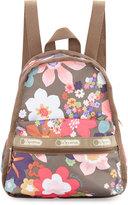 Le Sport Sac Basic Mini Floral Backpack, Blissful