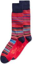 Alfani Men's Variegated Stripe Socks, Only at Macy's