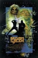 Star Wars Poster Return of the Jedi (68,5cm x 101,5cm) + 1 pair of black poster hangers
