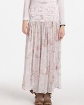 Printed Chiffon Skirt Slip