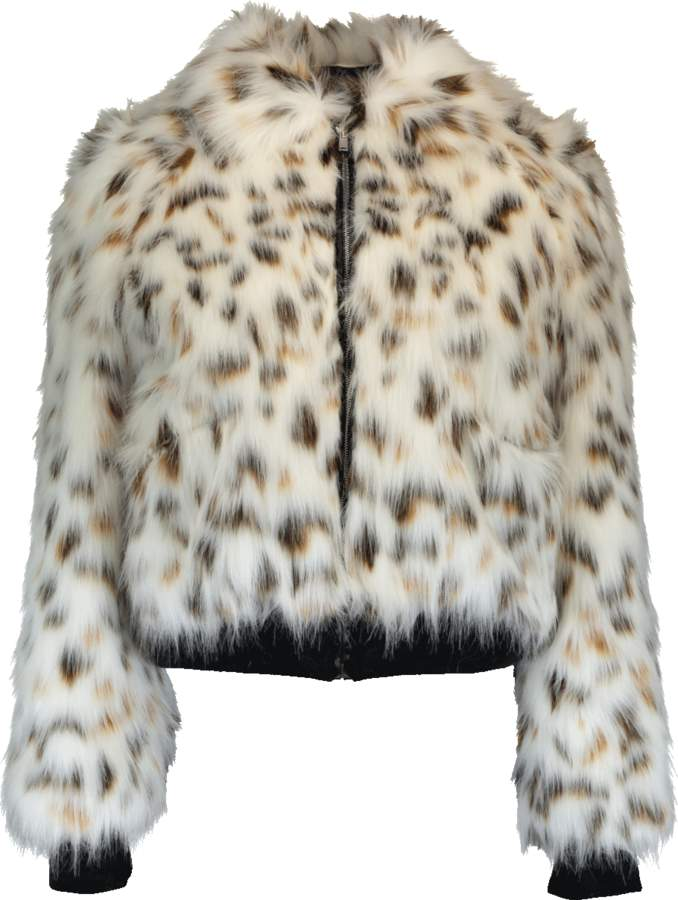MSGM Faux Fur Jacket