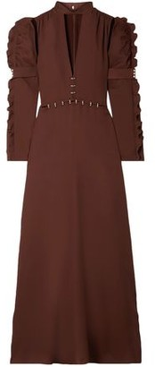 Chloé Embellished Cutout Cady Gown