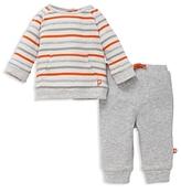 Offspring Boys' Stripe Sweatshirt & Joggers Set - Baby