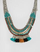 Pieces Benua Tassel Necklace