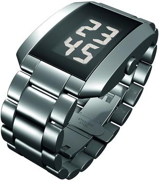 Rosendahl Unisex Digital Quartz Watch with Stainless Steel Strap 43242