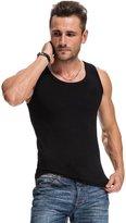 Bestgift Men's Cotton Tank Top Underwear XL