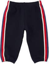 Gucci Web-Trim Jogging Pants, Size 3-36 Months