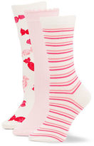 Kate Spade Pink Combo Sock Set