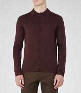 Reiss Oracle Merino Wool Polo Shirt