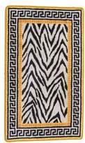 "Versace Zebra Pattern Area Rug 3'3"" x 2'0.5"""