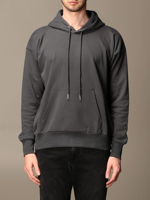 Diesel Sweatshirt In Cotton With Drawstring