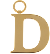 CHAOS D gold-plated charm