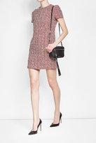 Alexander McQueen Tweed Dress with Cotton and Virgin Wool