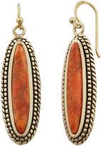 Barse FINE JEWELRY Art Smith by Orange Sponge Coral Drop Earrings