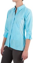 Exofficio TriFlex Hybrid Shirt - UPF 30+, Roll-Up Long Sleeve (For Women)