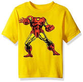 Freeze Toddler Boys Marvel Iron Man Head Graphic T-Shirt