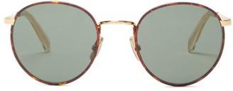 Celine Round Metal Sunglasses - Bronze