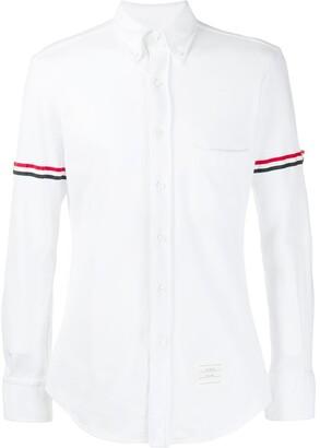 Thom Browne Long Sleeve Button Down Shirt