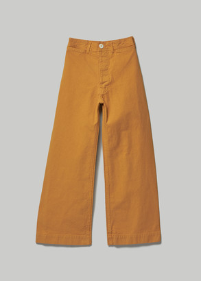 Jesse Kamm Women's Sailor Pant in Caribbean Gold Size 6