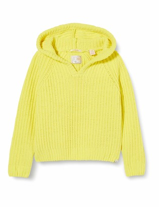 Scotch & Soda Girl's Knitted Hoodie in Chenille Quality Hooded Sweatshirt