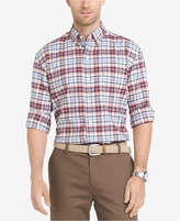 Izod Men's Newport Oxford Plaid Shirt
