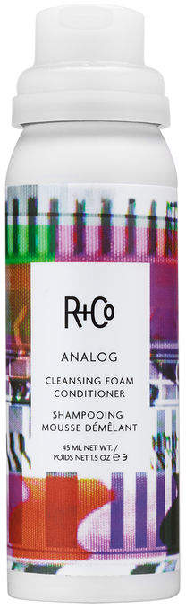 R+CO Analog Cleansing Foam Conditioner Travel Size