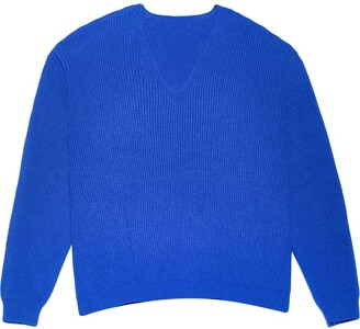 Apparis Loose Knit V-Neck Jumper