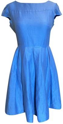Max Mara Weekend Blue Linen Dresses