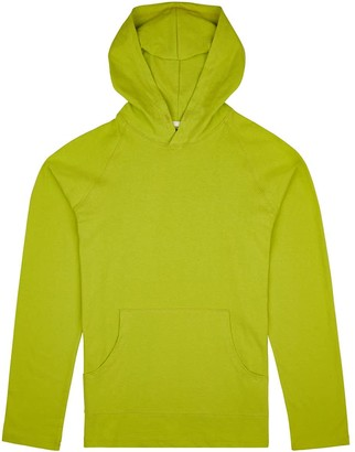 Fraser Birt Long-Sleeve Hooded T-Shirt Lime