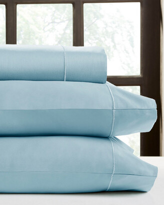 Perthshire Platinum Collection 1000Tc Solid Sateen 4Pc Sheet Set