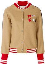 MAISON KITSUNÉ bicolour teddy jacket